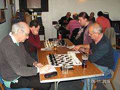 Team playing chess in Bristol
